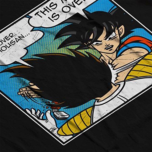 Meme Meme Cloud 7 City City City Sweatshirt Over Its 9000 Black Z Women's Dragon Vegeta Ball zFB1qnz