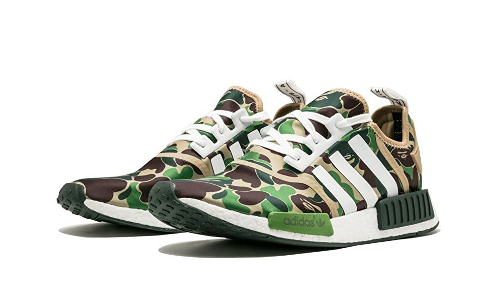 info for 3dae0 bab6e Amazon.com | adidas NMD R1 BAPE 'BAPE' - BA7326 | Basketball