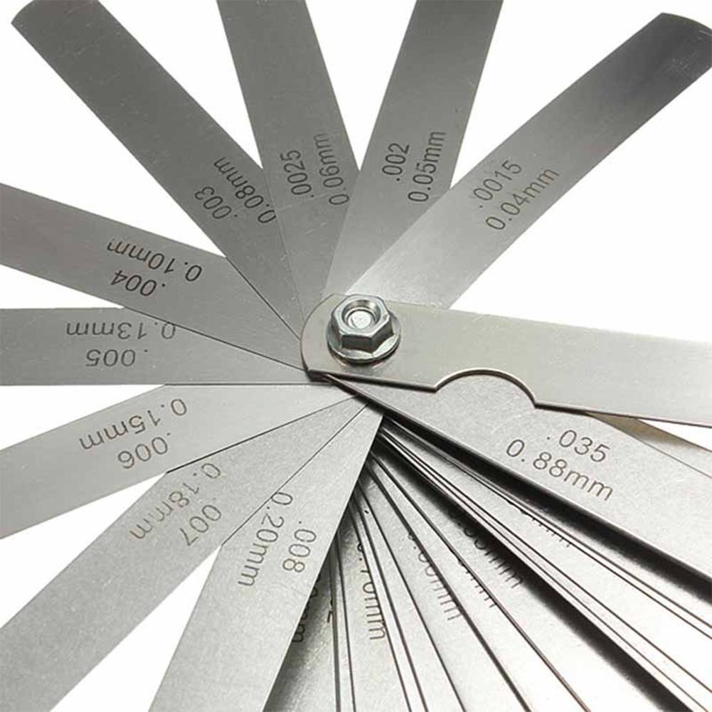 AmerStar 32 Blade Feeler Gauge Dual Reading Combination Measuring Gauge Metric & SAE by AmerStar (Image #6)