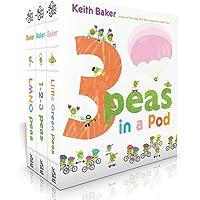 3 Peas in a Pod: LMNO Peas; 1-2-3 Peas; Little Green Peas
