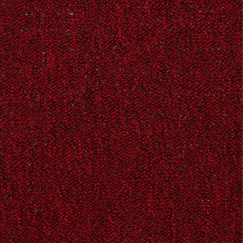 Home Queen IndoorOutdoor CommercialRugs Red Color 5' Square - Area Rug by Home Queen