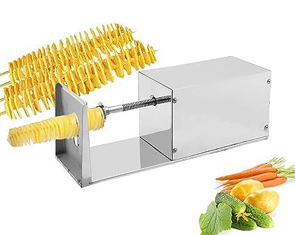 Cgoldenwall Electric Potato Spiral Cutter Cutting Machine