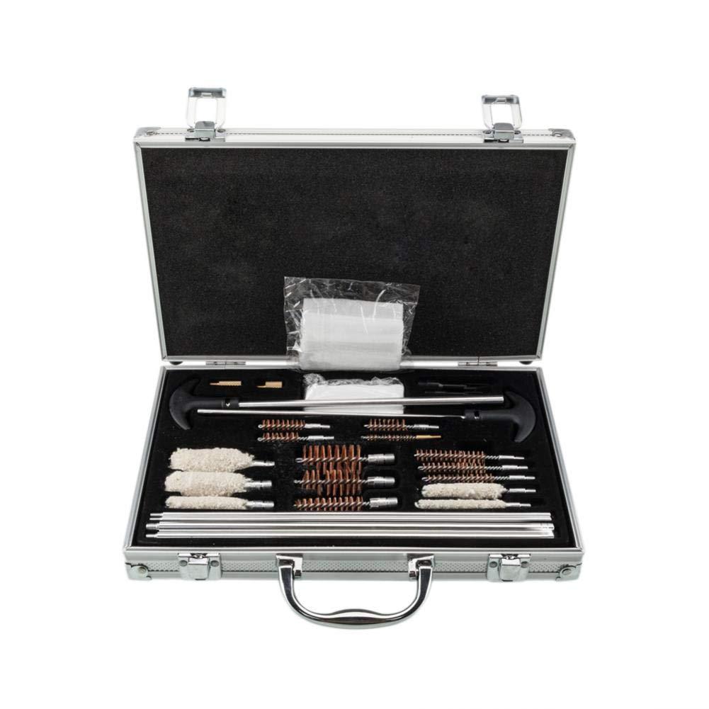 reakfaston Shotgun Cleaning Kit 126pcs Outdoor Hunting Shotguns Barrel Cleaning Kit with Case by reakfaston
