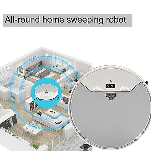 3 en 1 USB Recargable Aspirador automático Robot Apto para ...