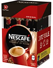 Nescafé Sweet and Creamy Original Sachets 18x22g (Pack of 6, 108 Cups)