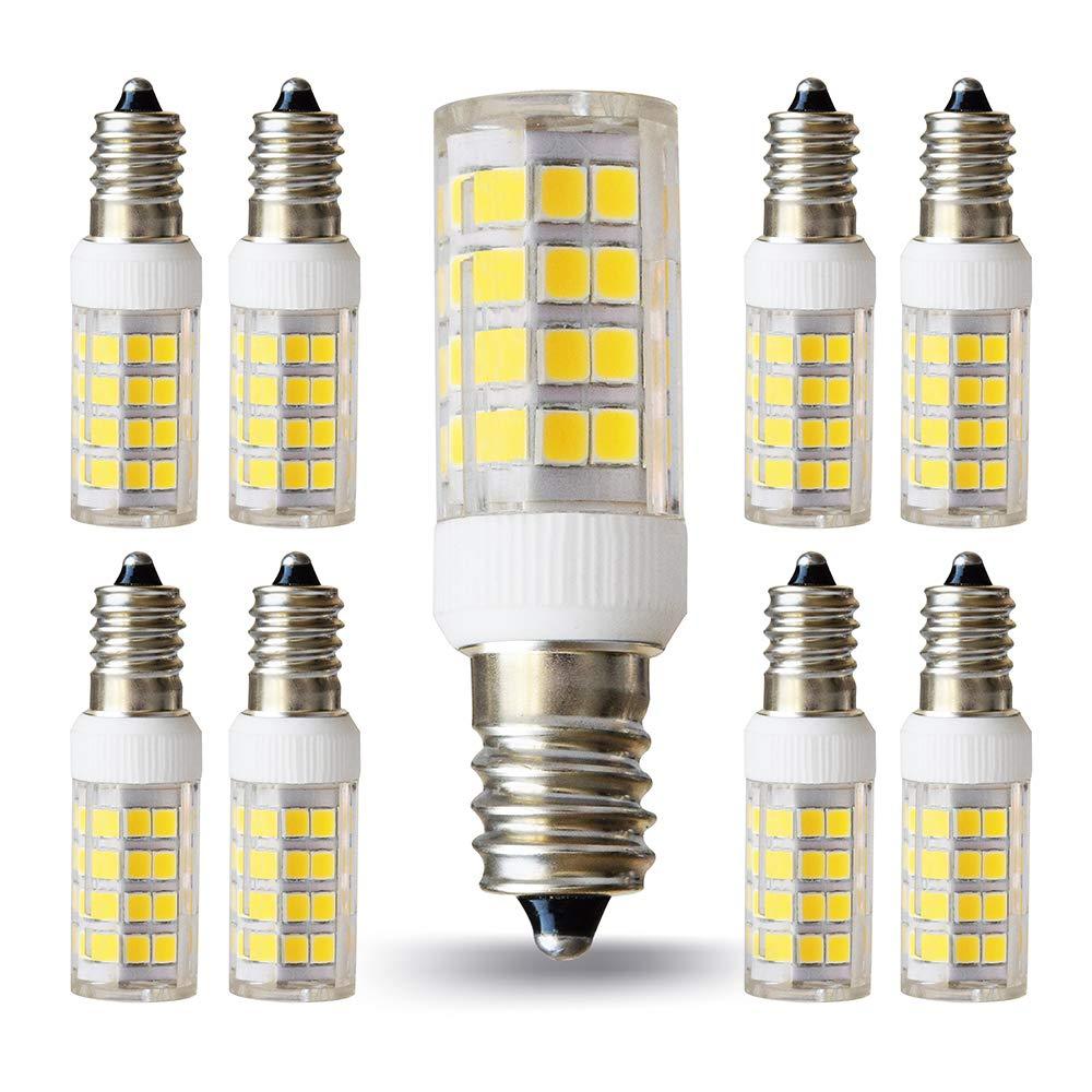 Lampaous e12 LED電球5 W燭台電球40 Wハロゲン同等Candleエジソンスクリューベース4000 K Neturalホワイトシャンデリアクリスタルボール器具ペンダント天井ランプホーム装飾照明、8パック   B07FP4W326