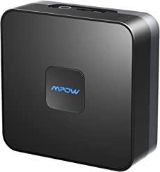 Mpow Bluetooth Receiver for Home Music Streaming System, Wireless Audio Adapter,Bluetooth 4.1 Music Adapter with High-Fidelity Stereo Sound and Up to 15 Hours Working-Time Battery