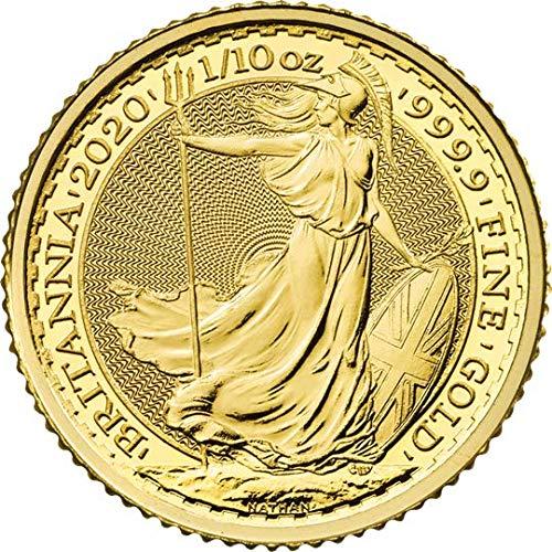 Moneda de oro de Britannia de 1/10 onzas: Amazon.es: Industria, empresas y ciencia