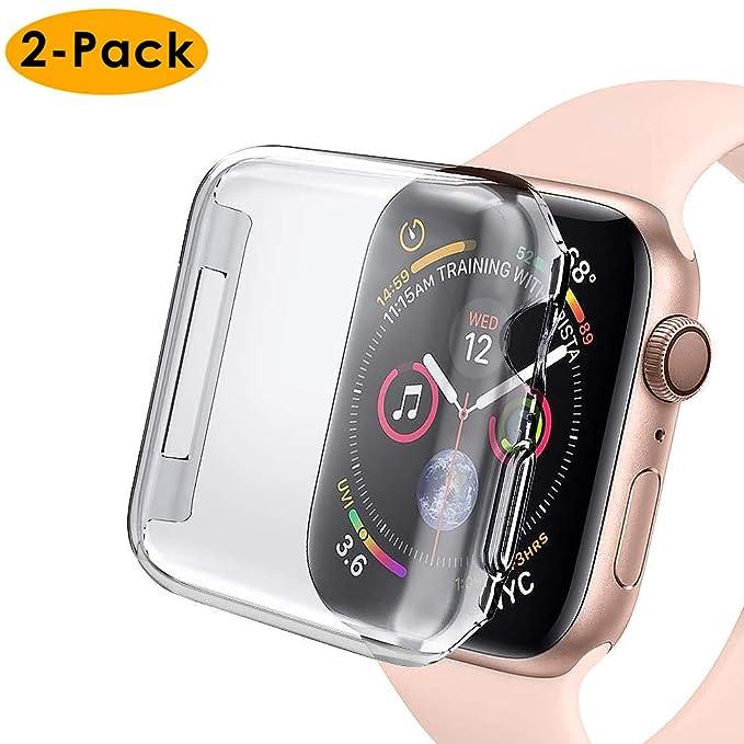 EZCO - 2 Unidades de Funda para Apple Watch Serie 4 de 44 mm ...