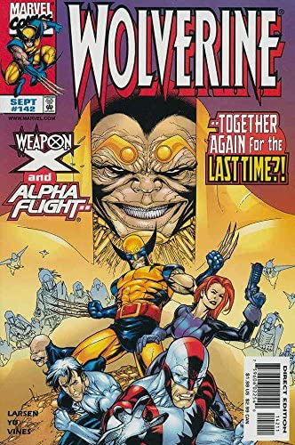 Free Combine Shipping Marvel Wolverine #142