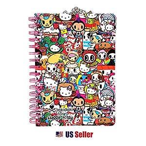 Amazon.com: Tokidoki x Sanrio Hello Kitty Spiral Journal