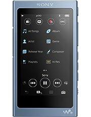 Sony NWA45L.CEW High Resolution Walkman MP3 Player (16 GB, Touchscreen, Digitalverstärker, Bluetooth, NFC) Blau
