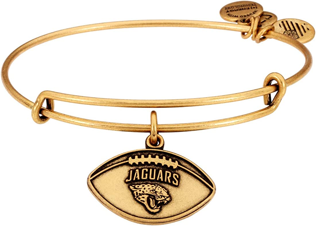 Alex and Ani NFL Football Logo Expandable Wire Bangle Bracelet