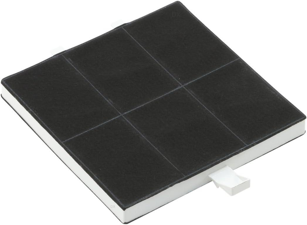 DREHFLEX-filtro de carbón activo para diversos modelos de campana extractora/hauben/Essen de Balay/Bosch/Constructa/Neff/Junker+ruh/Siemens/Viva/Vorwerk Apta para piezas de nº 360732/00360732