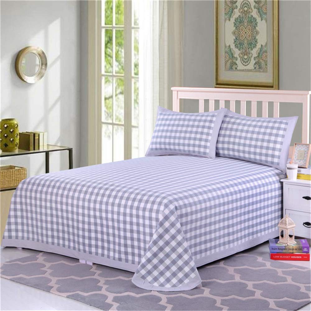 Factory Direct Cotton Bed Three Sets of Old coarse Cloth air Conditioning mat Cotton Bed Thickening Edging Double mat Color Number 04 200230cm by iangbaoyo