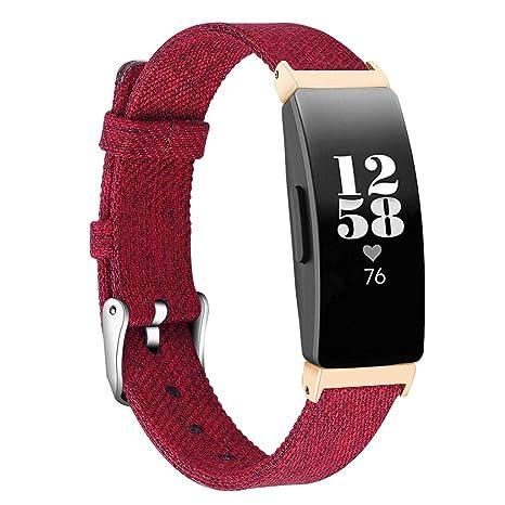 Correas para Relojes de Hombre y Mujeres, Compatible para Fitbit Inspire/Inspire HR,