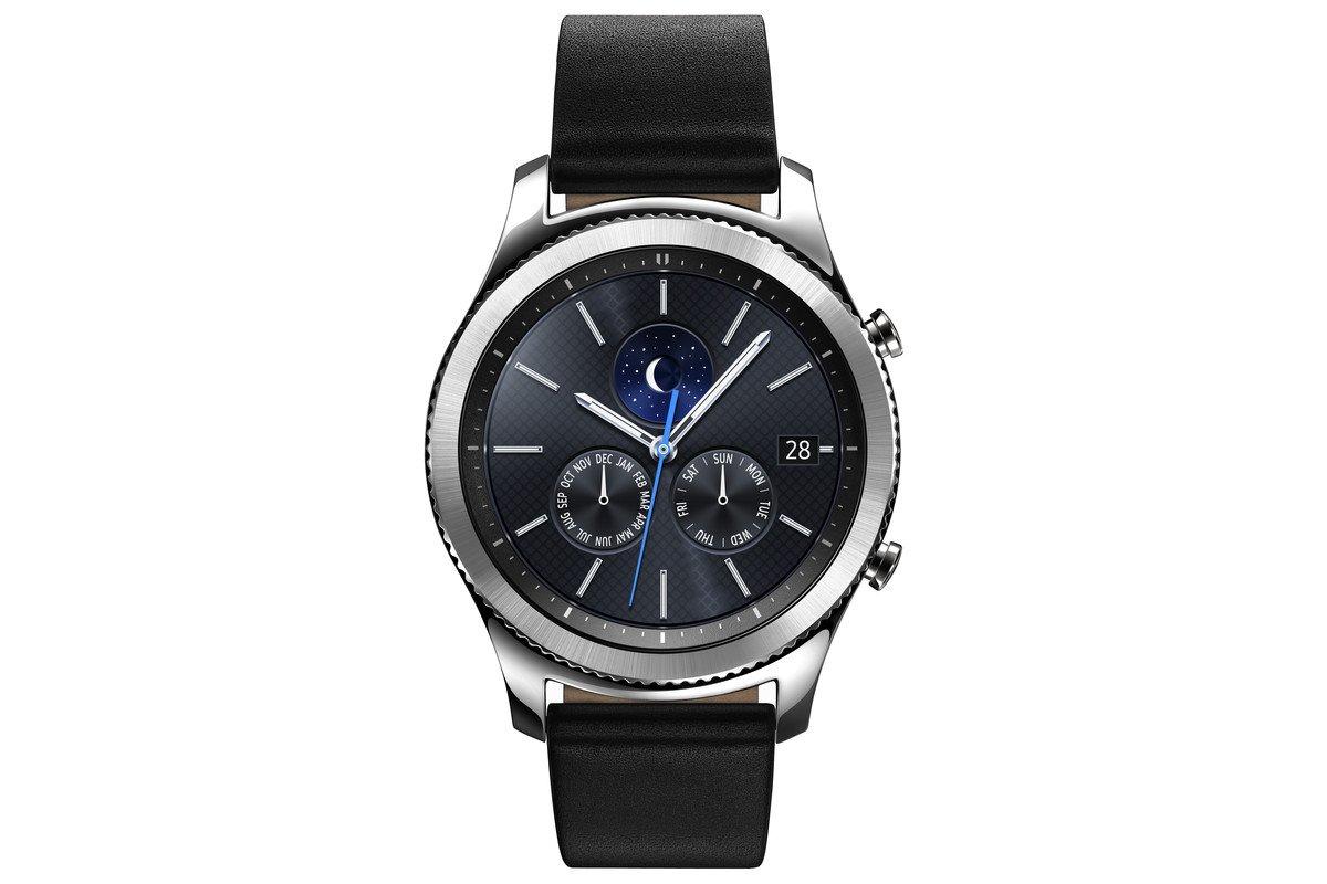 Samsung Gear S3 Classic Smartwatch   Black by Amazon