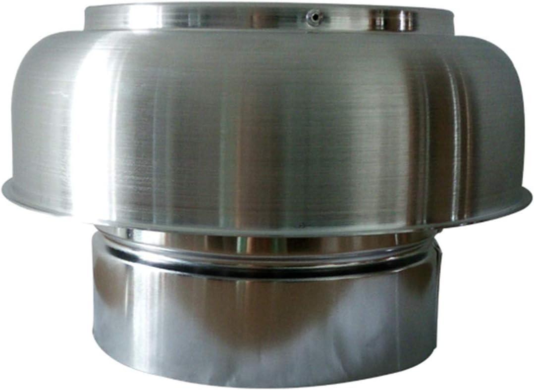 Cuiling-valla de aire 1pc salida de aire tapas, 5 pulgadas, 6 pulgadas, Techo de teja Campana de cocina Vent, de aluminio for techos de hongos Capota del conducto de ventilación de techo Sistemas reji
