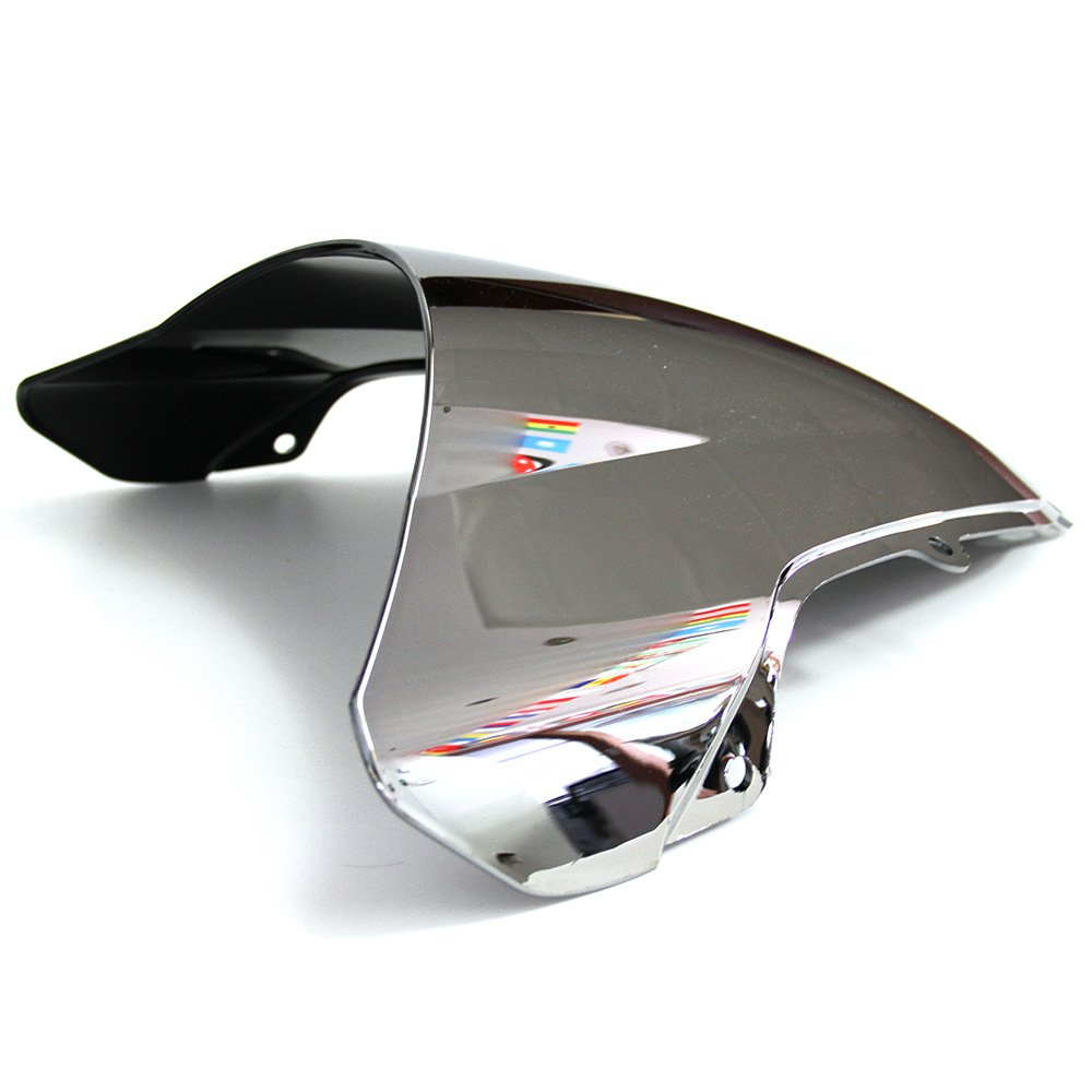 MFS MOTOR Double bubble Windshield Windscreen For Suzuki GSXR 600 GSXR 750 2001 2002 2003 GSXR 1000 2000 2001 2002