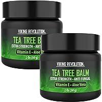 Tea Tree Oil Antifungal Cream- Super Balm Athletes Foot Cream- Perfect Treatment for Eczema, Jock Itch, Ringworm, and…