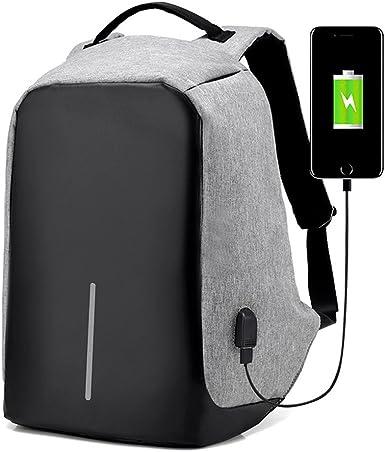 Men Multifunction USB Charging Backpacks Male Mochila Travel Backpack Anti Thief