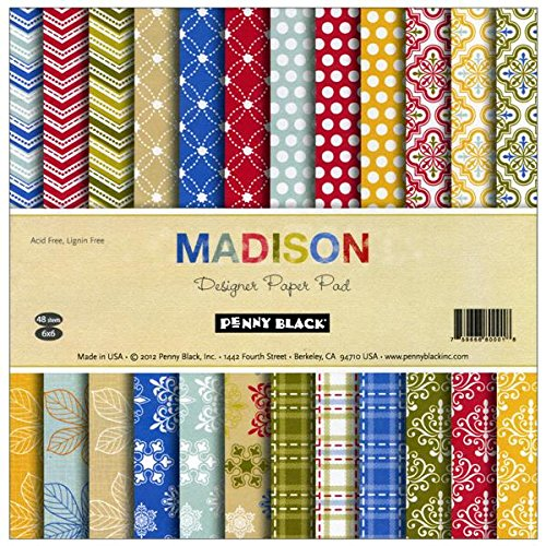 Penny Black 80-001 Madison Paper Pad ()