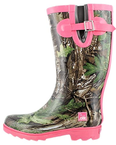 amazon com women s realtree girl by duckhead ms jo jo rain boot