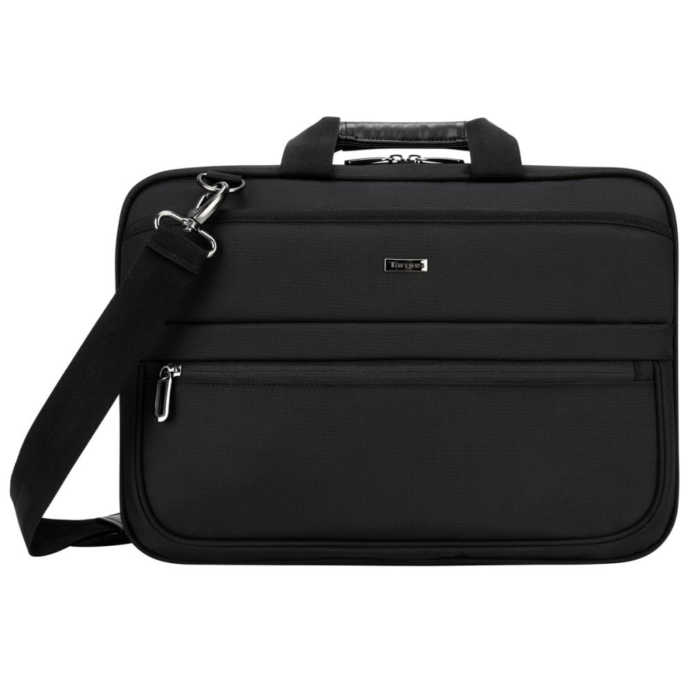 Targus Business Commuter Briefcase for 15.6 Inch Laptops Black TBT266