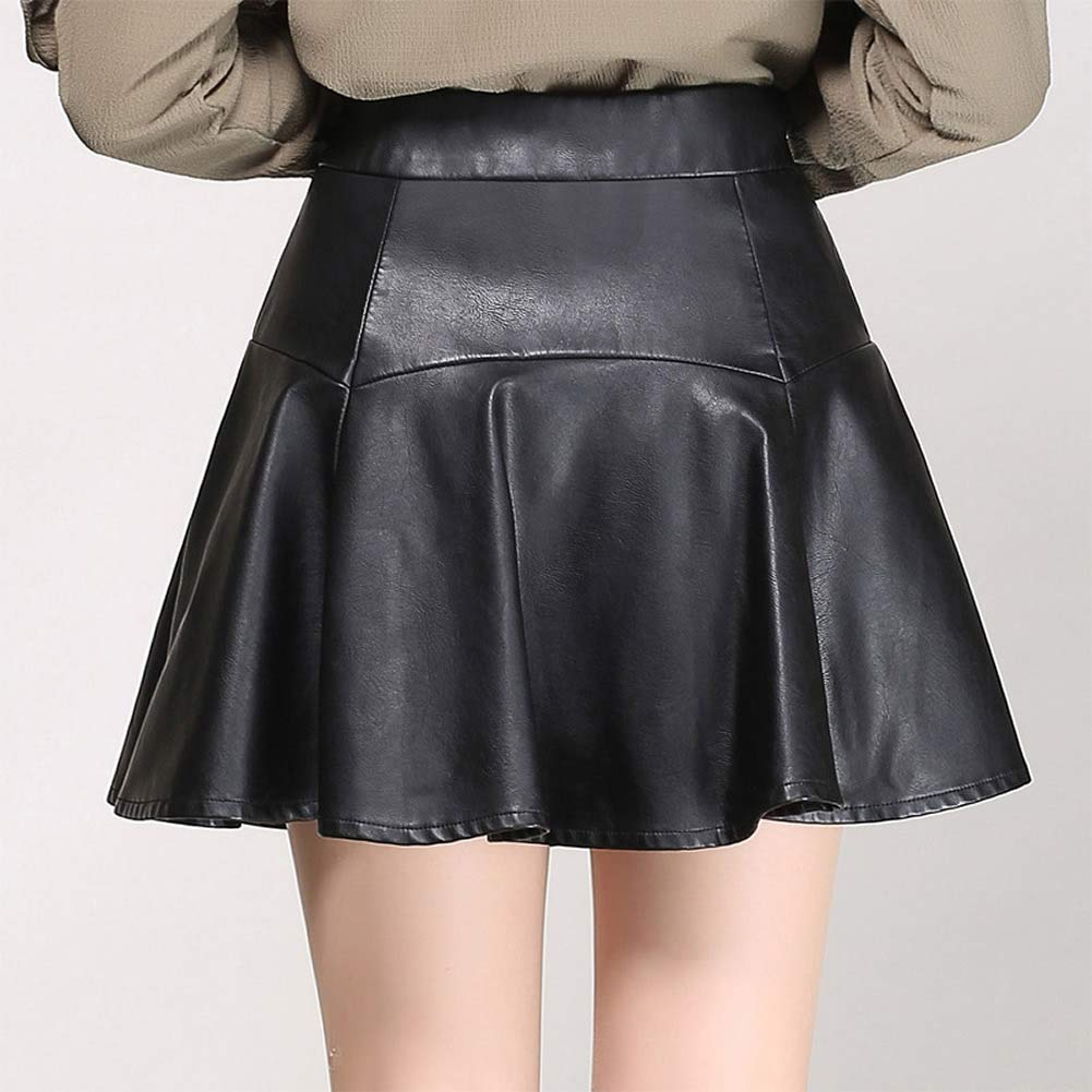 DISSA FS3016 - Falda de Falda Plisada (tamaño Grande, Piel ...