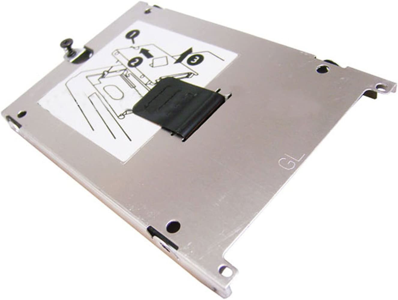 HP 8440w Carrier Inventec GL HDD Cover Bracket Assembly 1750B0035001