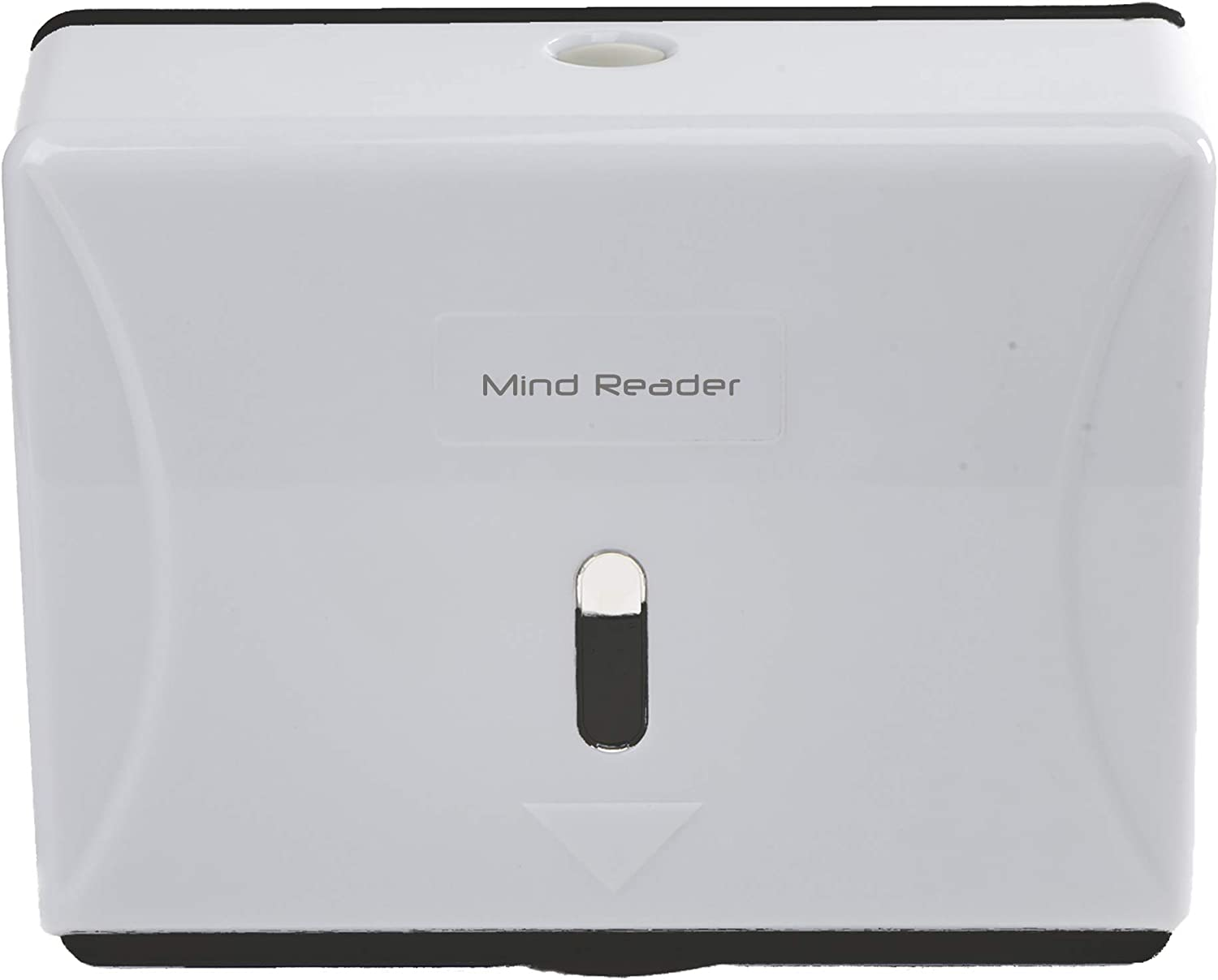Mind Reader Multi-Fold Paper Towel Dispenser, Paper Towel Holder, 3.75 in. L x 10.5 in. W x 14 in. H