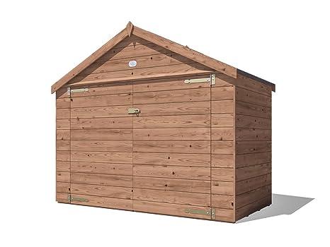 Dunster House - cobertizo para bicicletas de jardín pequeño, para almacenamiento de bicicletas, al
