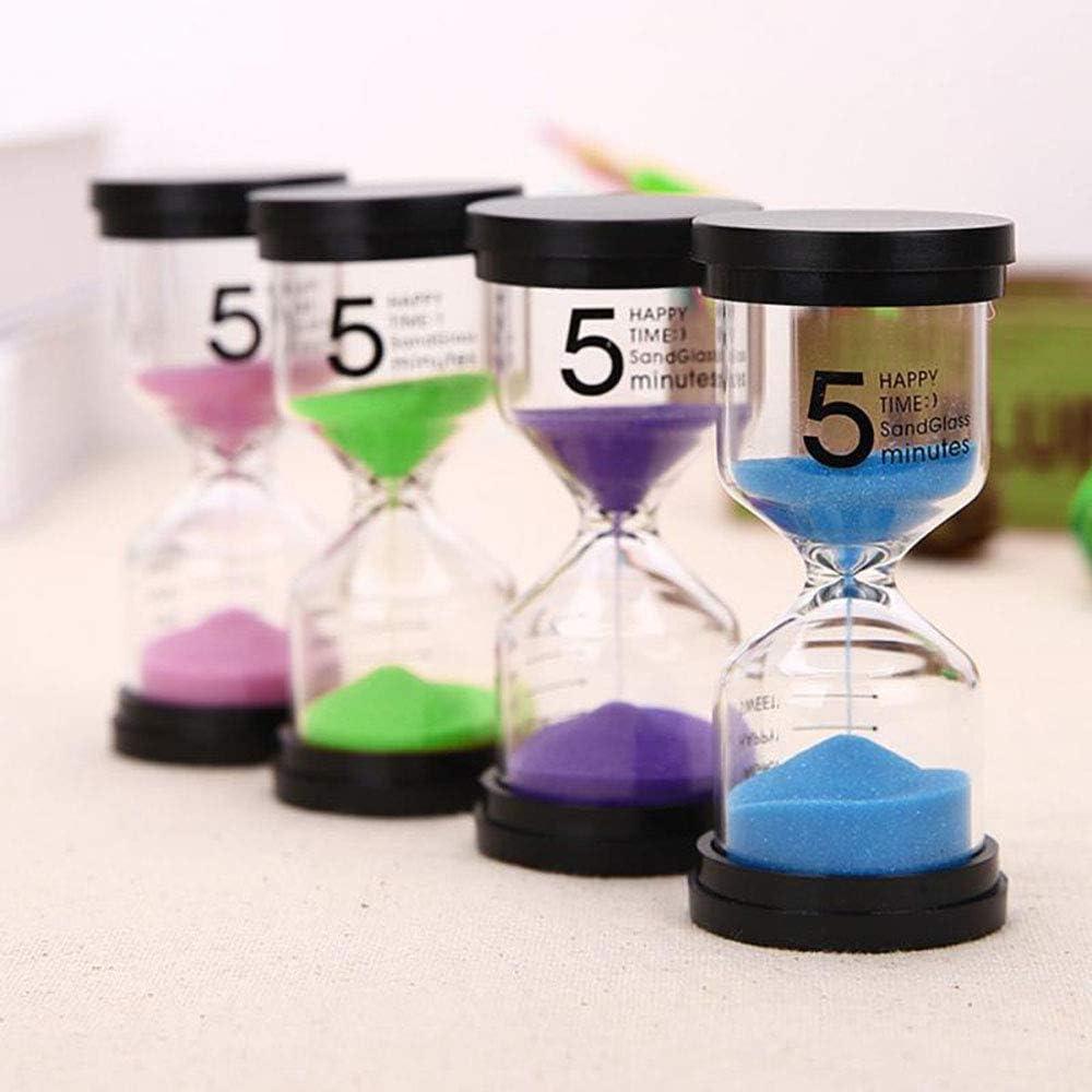 timer per conto alla rovescia Clessidra a sabbia per bambini timer 1//3//5//10 minuti clessidra timer per la casa 30 minuti blu. 30//60 minuti 15 minuti