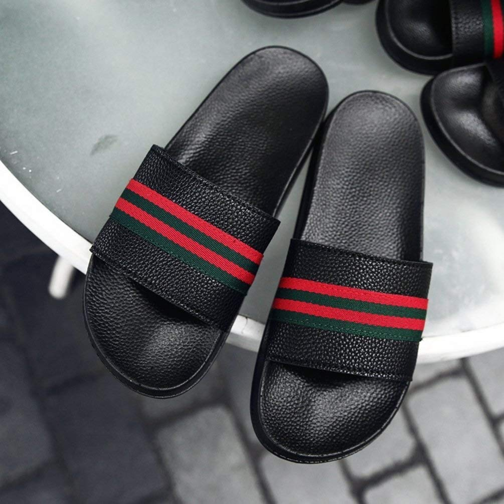 Color : White, Size : 5.5 UK Apragaz Mens Casual Slippers Summer Comfortable Sandals Home Indoor And Outdoor Walking Pool Beach Slipper