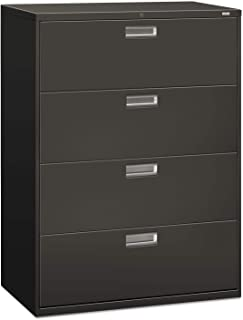 product image for HON 694LS 600 Series Four-Drawer Lateral File, 42w x 19-1/4d, Charcoal