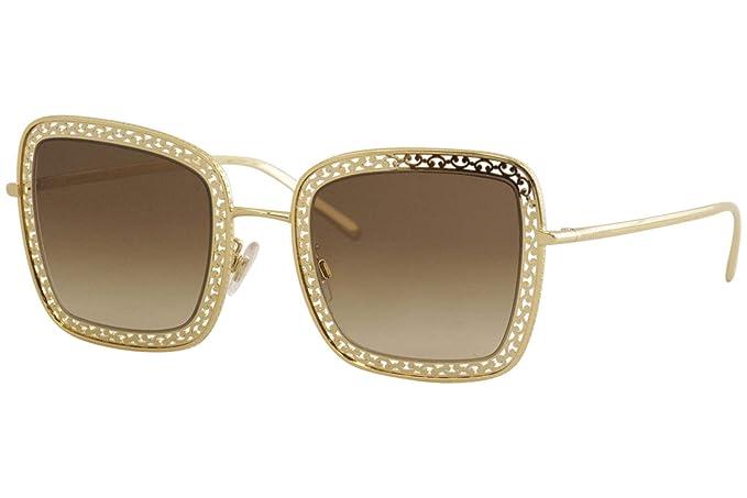 Dolce & Gabbana 0DG2225 Gafas de sol, Gold, 52 para Mujer ...