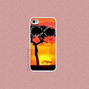 Iphone 4 Case, infinity hakuna matata iphone cases, iPhone 4s Cover, Cool Pre... by Maris's Diary