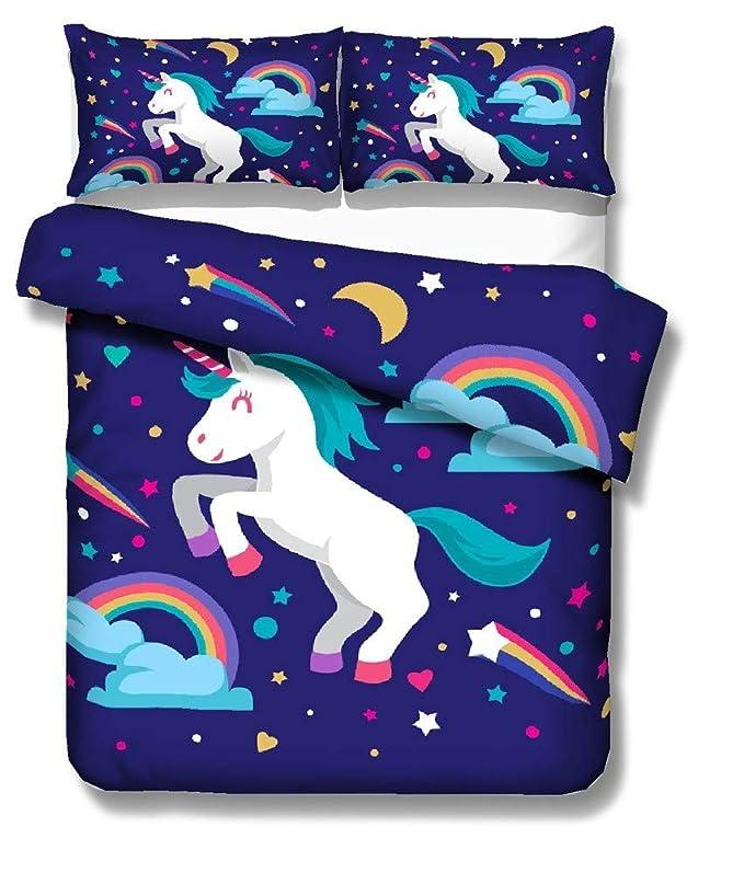 Juego de cama de Unicornio