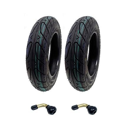 Juego de dos: rueda de patinete sin cámara 3.50-10 para Adly ...