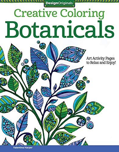 Creative Coloring Botanicals: Art Activity Pages to Relax and Enjoy! (Design Originals)