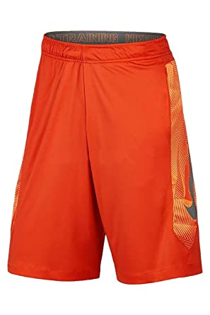 f4b7b2a69af5 Nike Men s Hyperspeed Knit Training Shorts (Orange) at Amazon Men s ...