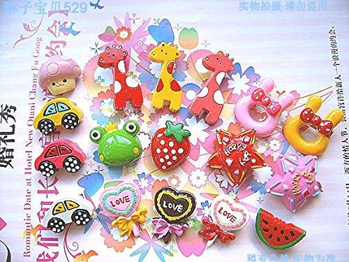 Super single product frog bus lollipop giraffe rabbit cute pin / brooch / decorative bags