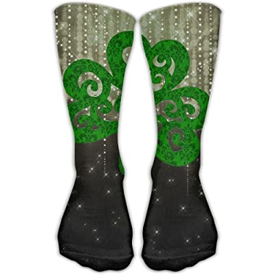 Design St Patrick's Day Parade Fashion Art Boots Sock For Women &Girl
