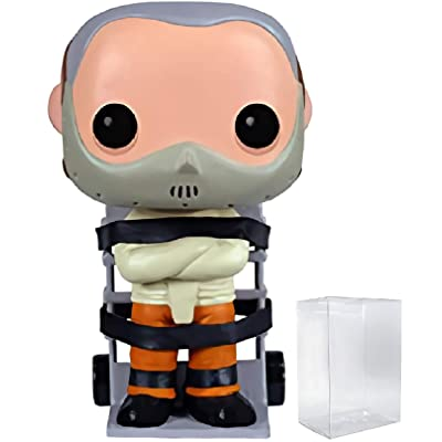 Funko Pop! Movies: The Silence of The Lambs Hannibal Lecter Collectible Vinyl Figure (Bundled with Pop Protector): Toys & Games [5Bkhe1003775]