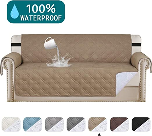 11% Waterproof Sofa Protector Extra-Wide Couch Cover Non-Slip Oversized  Furniture Covers Lounge Covers for Leather Sofa Cover Features Protect from