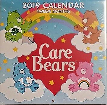 "Strawberry Shortcake 2019 Wall Calendar 12 Month New Sealed 10/"" X 20/"""