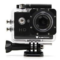 IceFox Action Cam 4k, Unterwasser 30M Sport Action Kamera mit 2 wiederaufladbaren Akku, Wifi Fernbedienung, 2.0 Display, 1080P HD Aufnahme für Tauchen, Motorrad, Surfen, Bootfahren und Skifahren