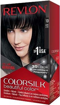 Revlon Colorsilk - Tinte, color 10-negro, 200 gr