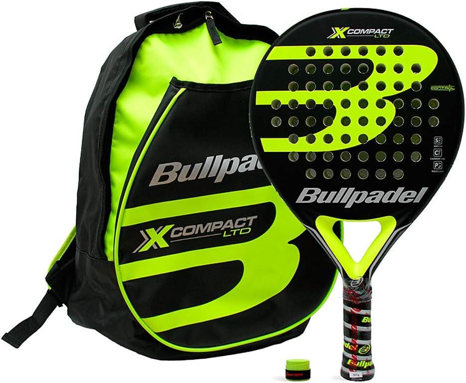 Pack Mochila Bullpadel X-Compact Yellow: Amazon.es: Deportes y ...