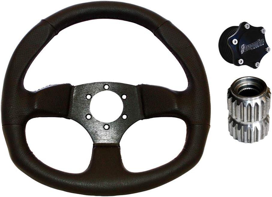 UTV Quick Release Steering Wheel Hub Kit For Polaris General 1000 EPS 2016